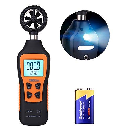 Anemómetro Termómetro Tacklife DA03