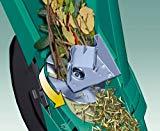 trituradora de ramas de cuchillas